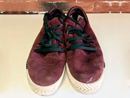 Обувь до химчистки