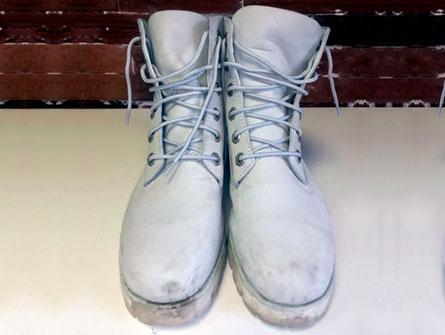 Обувь до покраски