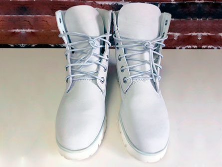 Обувь после покраски