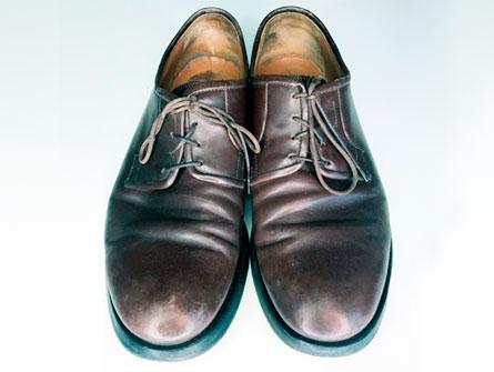 Обувь до реставрации