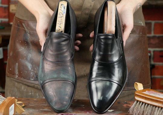 Почему крем убивает обувь